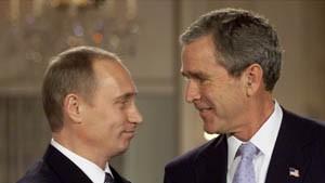 Bush und Putin wollen Zahl der Atomwaffen verringern