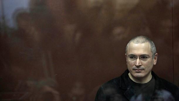 Michail Chodorkowskij kritisiert den Westen