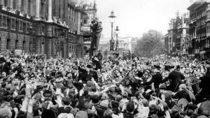 Victory Day in einem kriegsmüden Land