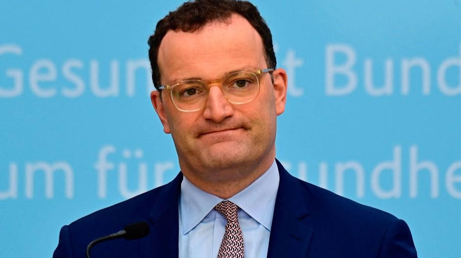 Im Zentrum der Vorwürfe: Bundesgesundheitsminister Jens Spahn (SPD)
