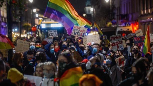Was die Frauen in Polen von der Regierung fordern