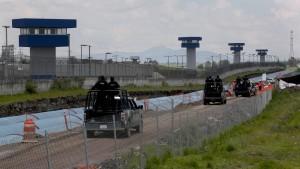 Vor Ausbruch von El Chapo war Baulärm zu hören
