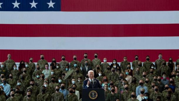 Biden bekräftigt Amerikas Allianztreue