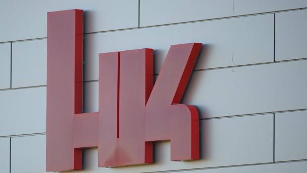 Razzia bei  Heckler & Koch