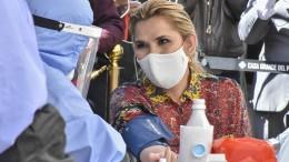 Boliviens Interimspräsidentin mit Coronavirus infiziert