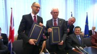 EU und Ukraine beschließen engere Zusammenarbeit