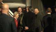 Befreite OSZE-Beobachter in Tegel