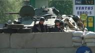Unklare Lage in der Ost-Ukraine