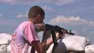 Angriff auf Aufständische nahe Donezk