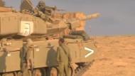 Israelische Bodenoffensive geht weiter