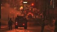 Nun auch Unruhen im Westjordanland