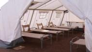 Zeltstadt für Asylbewerber