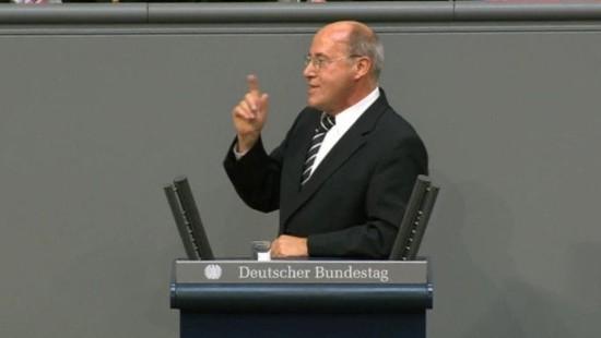 Gysi will Schäubles Straße kaufen