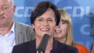 Ministerpräsidentin Lieberknecht zum Wahlsieg