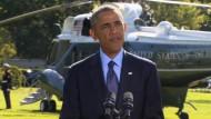 """Obama: """"Wir wurden von Freunden unterstützt"""""""