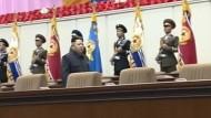 Kim kann wieder laufen
