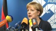 Merkel lobt G 20 für Fortschritte bei Bankenregulierung