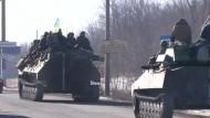 Ukrainische Regierung gibt Debalzewe auf