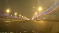 Dashcam-Bilder aus der Mord-Nacht von Moskau