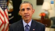 Obama sieht historische Chance für Atomabkommen mit Iran