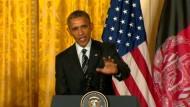 Amerika verlangsamt Truppenabzug aus Afghanistan