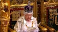 Queen Elizabeth kündigt EU-Referendum an