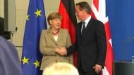 Merkel zeigt sich offen für britische EU-Reformvorschläge