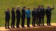 Gipfel-Gespräche haben begonnen