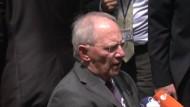 Schäuble nicht sehr zuversichtlich
