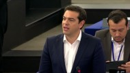 Tsipras: Griechisches Volk ist am Ende der Belastbarkeit