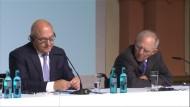 Schäuble macht Scherz zu Griechenland