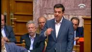 Parlament in Athen stimmt Sparmaßnahmen zu