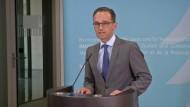 Maas äußert sich kritisch zu den Ermittlungen gegen Netzpolitik