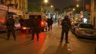 Anti-Terror-Einsatz der Polizei