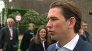 Österreich macht sich für Grenzsicherung stark