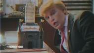 Johnny Depp macht auf Donald Trump