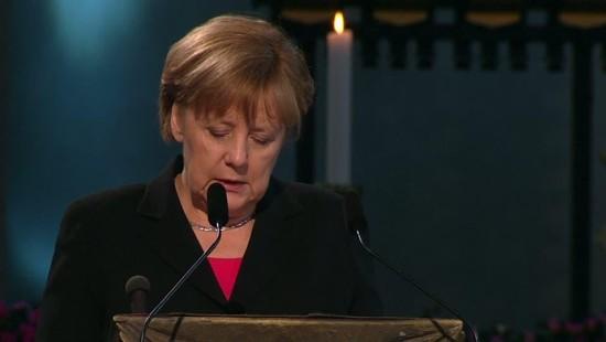 Merkel gedenkt Guido Westerwelle