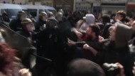 Gewaltausbruch bei Demonstration gegen Arbeitsmarktreform