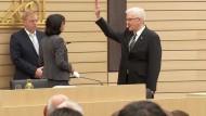 Kretschmann erneut als baden-württembergischer Ministerpräsident vereidigt