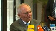 Schäuble: IWF soll an Bord bleiben