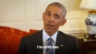 Obama stellt sich im Wahlkampf hinter Clinton