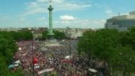 Pariser Polizei bereitet sich auf Demo-Gewalt vor
