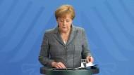 Merkel verurteilt Putschversuch auf das Schärfste