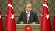 Erdogan wirft Westen Beihilfe zum Terrorismus vor