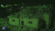 Israelische Armee sprengt Häuser von palästinensischen Attentätern
