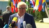 Außenminister Steinmeier lädt 40 Außenminister nach Potsdam ein.