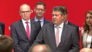 Gabriel sieht die SPD im Aufwind