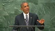 Barack Obama vor UN-Vollversammlung