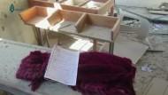 Luftangriff auf Schule in Syrien