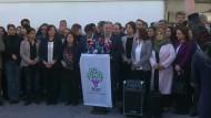 Prokurdische HDP boykottiert Arbeit im Parlament